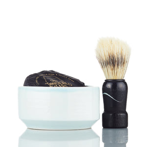 Dark Shave Soap Puck