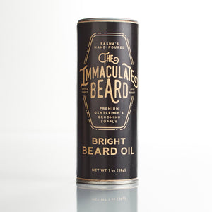 Conditioning Natural Beard Oil | The Immaculate Beard - The Immaculate Beard