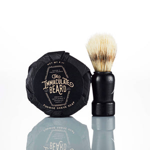 Bright Shave Soap Puck - The Immaculate Beard