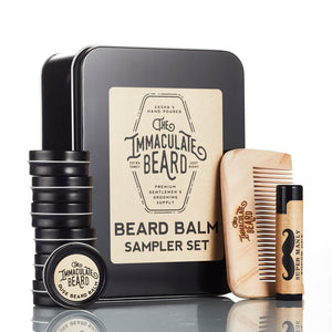 Beard Balm Sampler Set - The Immaculate Beard