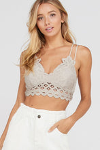 Load image into Gallery viewer, Crossy Back Lace Bralette