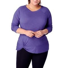 Curvy Taos Twist Front Top