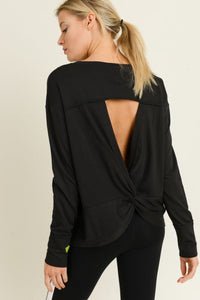 Twist Cut-Out Back Top