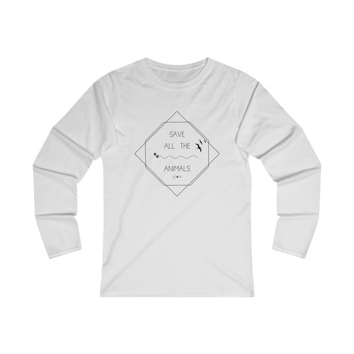 Save All The Animals 2019 Women's Long Sleeve Tee