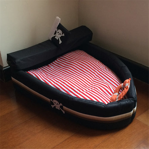Pirate Bed for Dogs and Cats