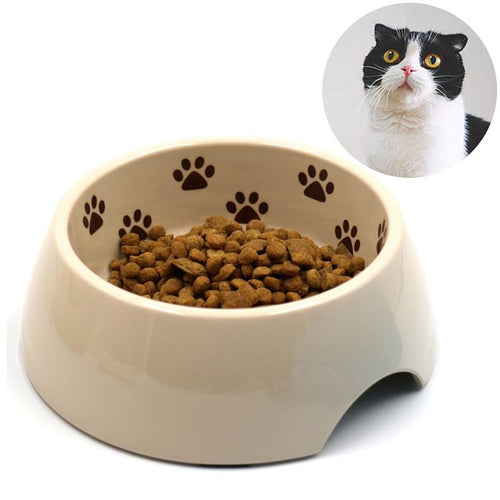 Small Bowl with Paw Prints