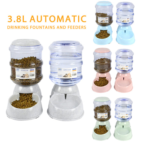 Automatic Water and Food Dispensers