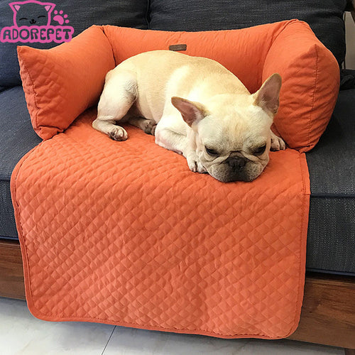 Solid Colored Sofa Protector for Dogs and Cats