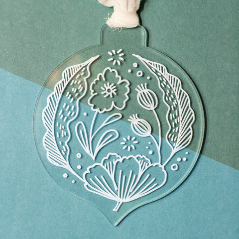Kayla Floral Ornament