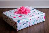 Powder Pink Bloom Gift Wrap