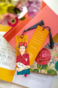 Frida, lover quote, bookmark