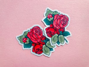 Simply Roses, Sticker