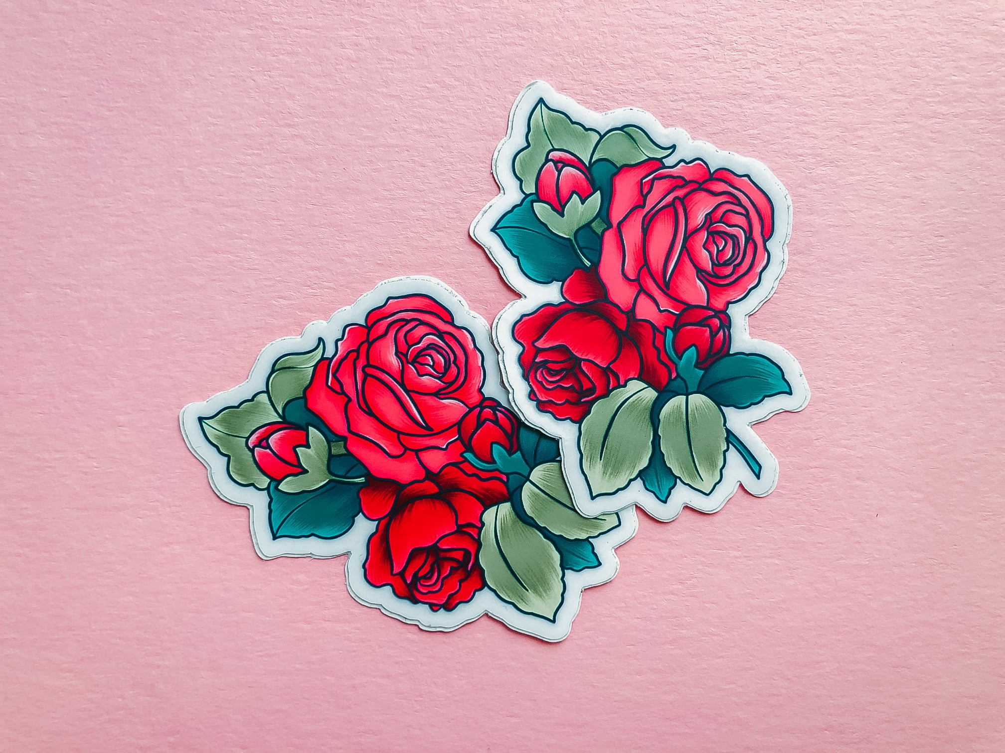 Copy of Simply Roses, Sticker