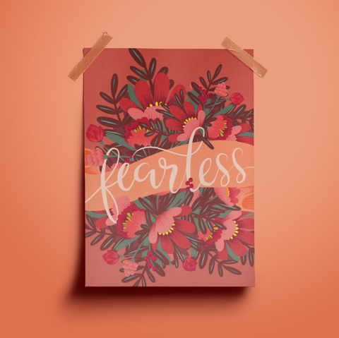 Fearless, Giclee Print