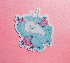 Unicorn Love, Sticker