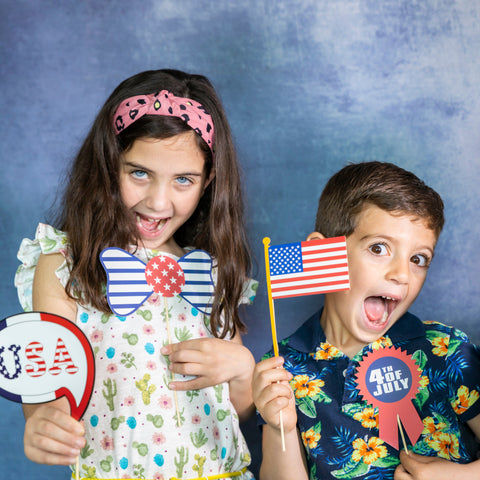 4th of july theme photo booth