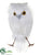 Silk Plants Direct Snow Owl - White - Pack of 12