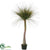 Silk Plants Direct Wild Grass Tree - Green Two Tone - Pack of 2