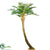 Tropical Fern Tree Curved - Green - Pack of 1