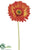 Large Gerbera Daisy Spray - Rust Orange - Pack of 12