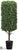 Rectangular Boxwood Topiary - Green - Pack of 1