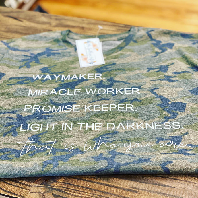 Way Maker Tshirt