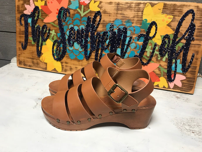 Chunky Rome Style Sandals
