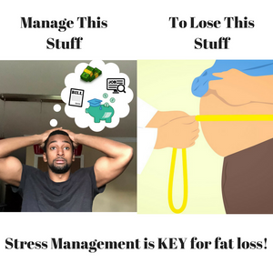 Stress Management is KEY For Fat Loss