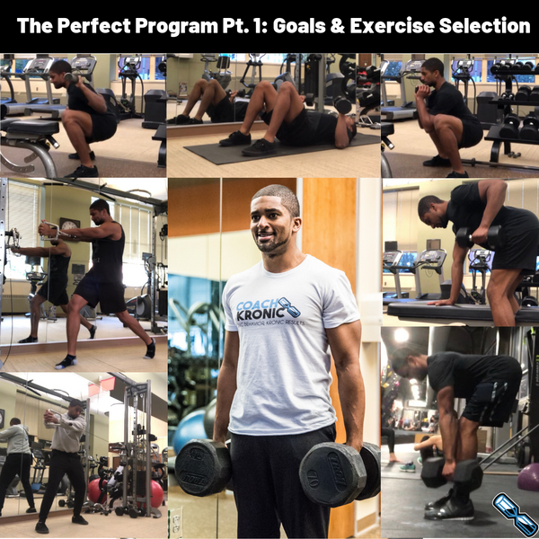 The Perfect Program Pt. 1: Goals & Exercise Selection