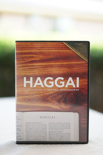 Haggai Sermon Series CD Set