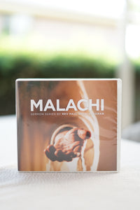 Malachi Sermon Series CD Set
