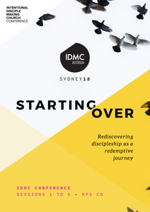 2018 IDMC Conference: Starting Over MP3