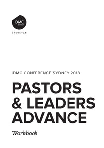 2018 IDMC Conference: P&L Advance Workbook