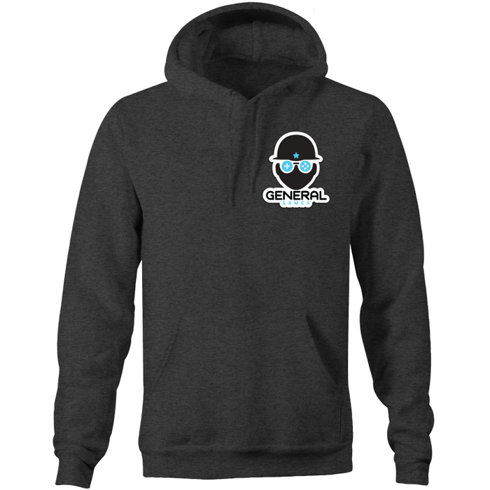 General Games Logo - Pocket Hoodie Sweatshirt
