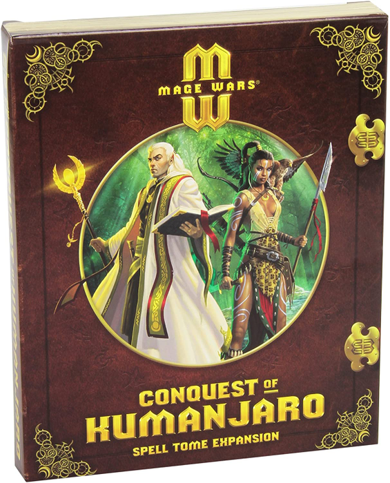 Mage Wars Conquest of Kumanjaro Spell Tome Expansion