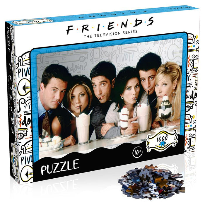 Friends Milkshake Puzzle 1000 piece
