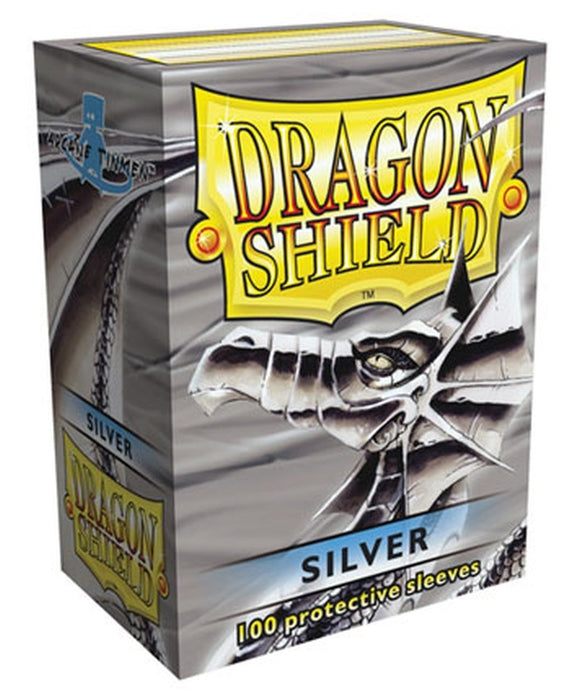 Sleeves - Dragon Shield - Box 100 - Silver