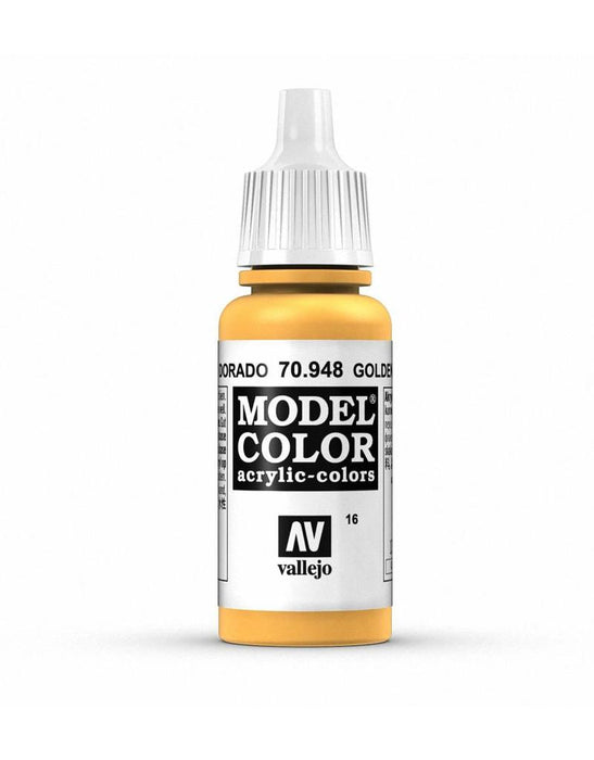 Vallejo Model Colour Golden Yellow 17 ml