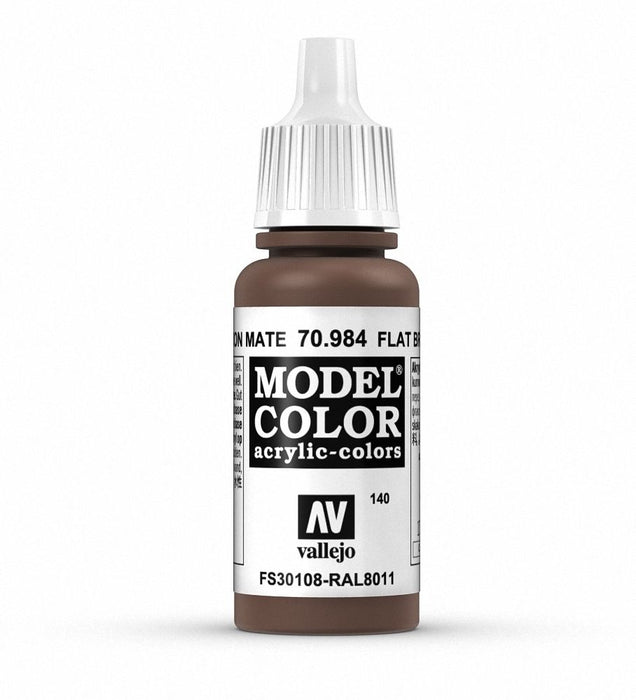 Vallejo Model Colour Flat Brown 17 ml