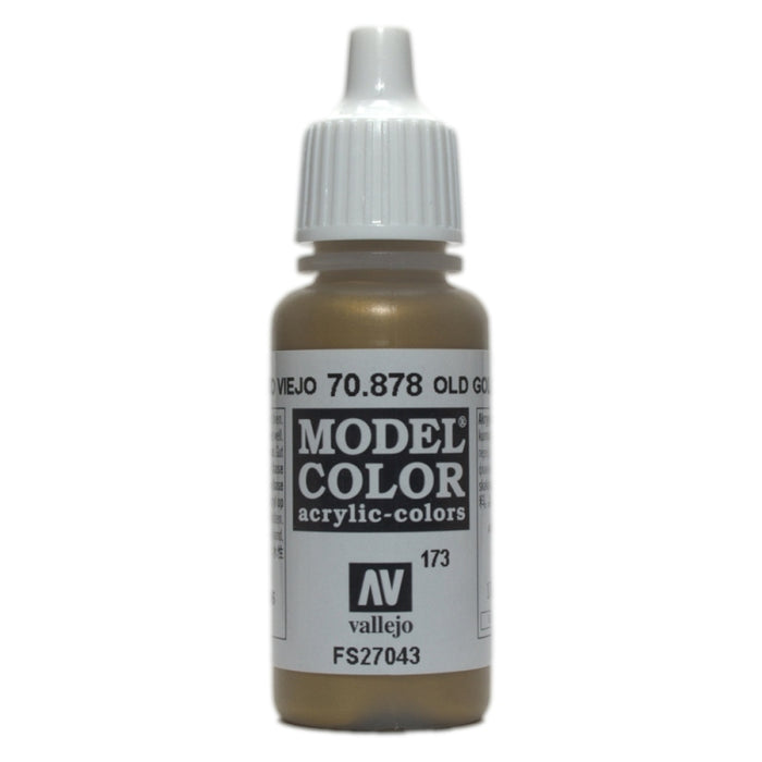 Vallejo Model Colour Metallic Old Gold 17 ml