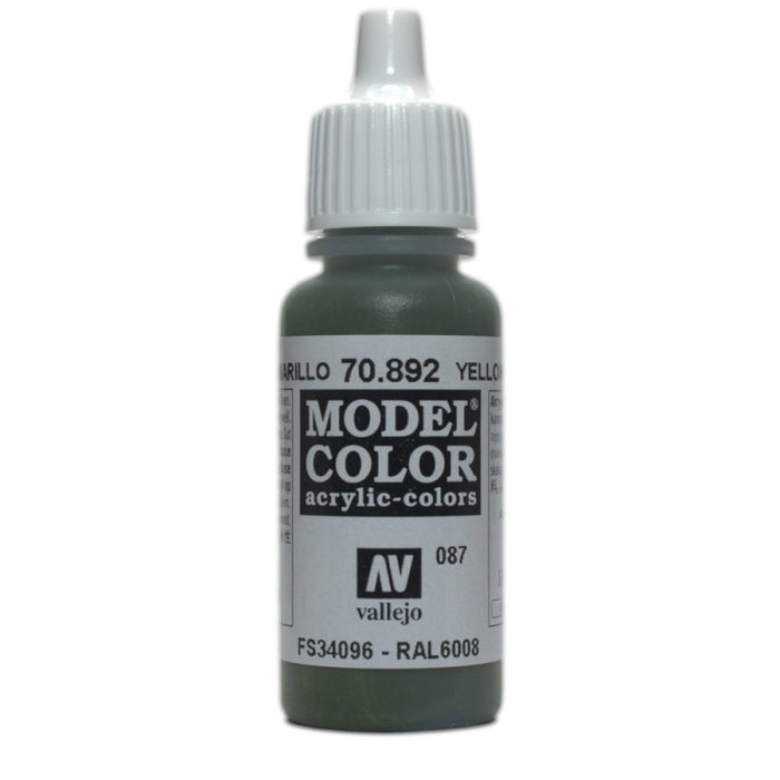 Vallejo Model Colour Yellow Olive 17 ml