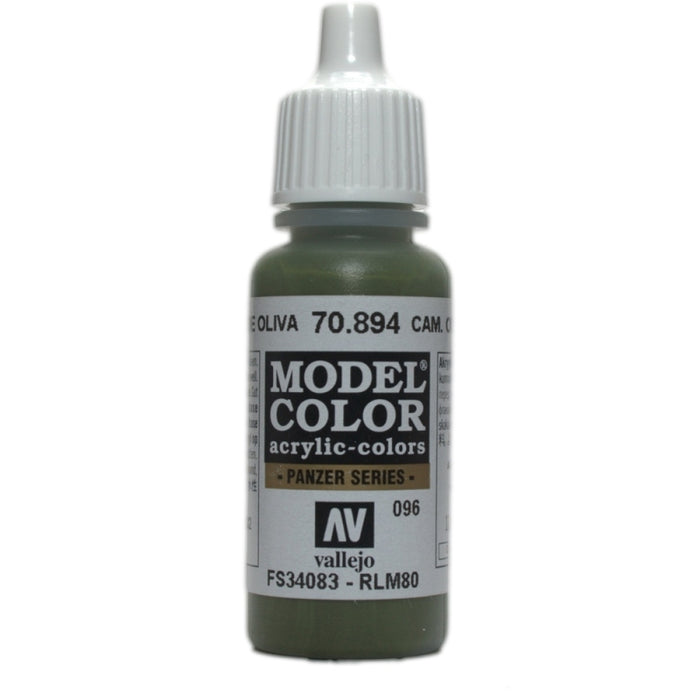 Vallejo Model Colour Cam Olive Green 17 ml