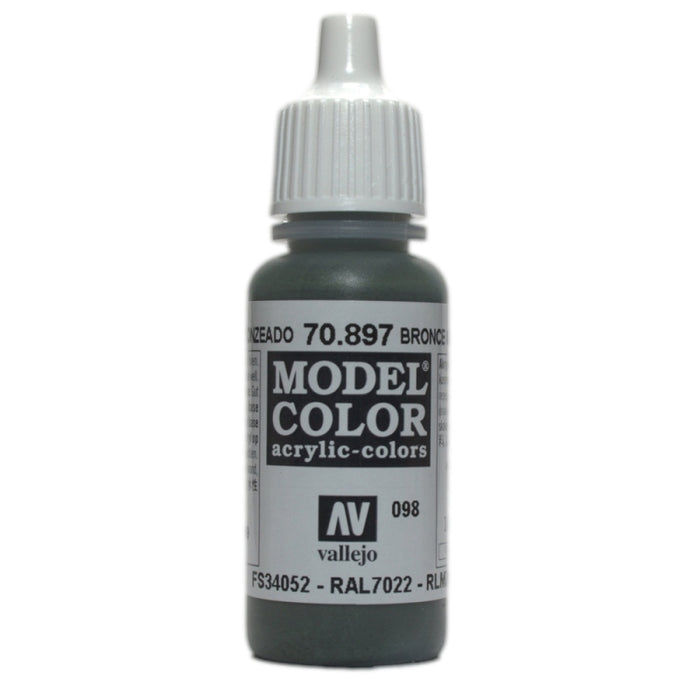 Vallejo Model Colour Bronze Green 17 ml