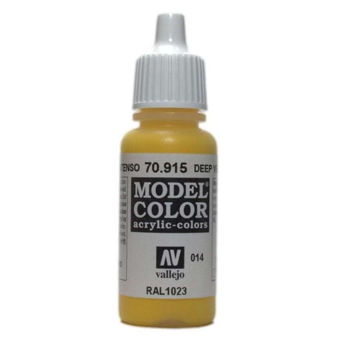 Vallejo Model Colour Deep Yellow 17 ml