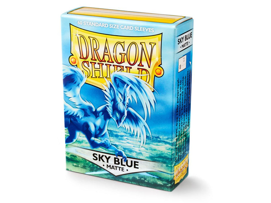 Sleeves - Dragon Shield - DS60 Matte Sky Blue