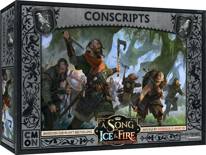 A Song of Ice and Fire Nights Watch Conscripts Unit Box