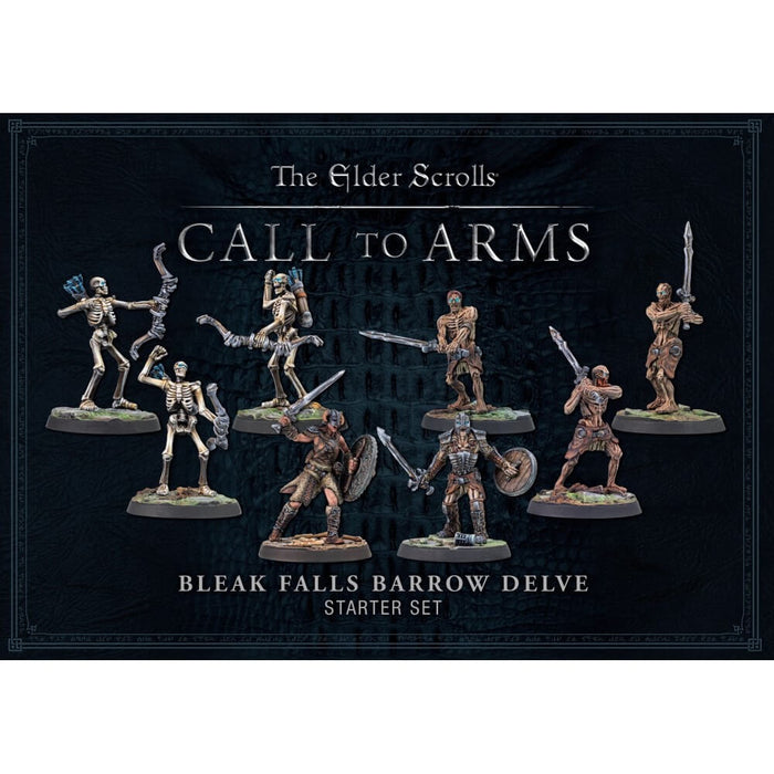 Elder Scrolls Call to Arms Bleak Falls Barrow Delve Set