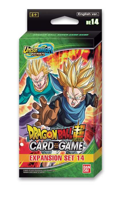 Dragon Ball Super Expansion Set display (BE14) Battle Advanced