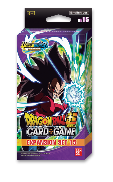 Dragon Ball Super Expansion Set display (BE15) Battle Enhanced