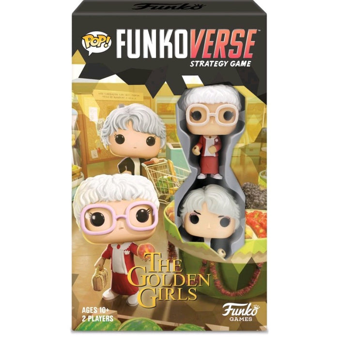 Funkoverse - Golden Girls 101 2 -Pack Expandalone Strategy Board Game